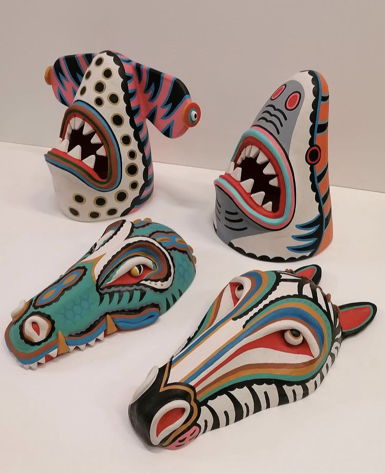 Jun Chihara : Mascaras
